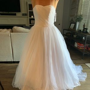 David's Bridal Ballgown Tulle